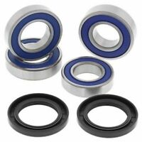 Both Rear Wheel Bearing Seal for Suzuki LT-A400F LTA400F Eiger 4WD 2002...