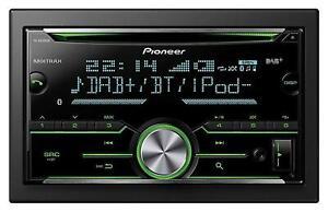 Pioneer FH-X840DAB Doppel-DIN CD/MP3-Autoradio Bluetooth DAB iPod AUX-IN USB