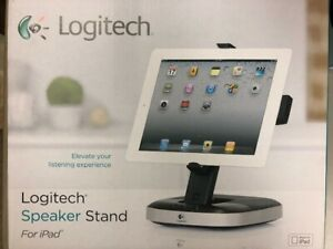 Logitech Speaker Stand with 30-PIN Charging for iPad 1 and 2,  Brand New Unused