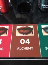 Brand New Jordana Black Pearl Metallic Matte Liquid Lip Color Alchemy