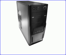 CASE PER PC ATX CON ALIMENTATORE 500W VENTOLA 12cm USB+AUDIO FRONTALI CASS04