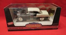 1955 Chevrolet Bel Air Black & White Rare Hobby Edition Ertl 1/18 55 Chevy