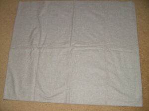 "Vintage 2 yds light gray Wool knit  Fabric   60"" wide unused"