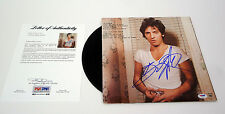 BRUCE SPRINGSTEEN SIGNED DARKNESS ON THE EDGE OF TOWN VINYL RECORD PSA/DNA COA