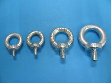 Ringschraube Augenschraube Augbolzen Ösenschrauben galvanisch verzinkt M6 to M20