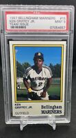 1987 Bellingham Mariners Team Issue Ken Griffey Jr. ROOKIE RC #15 PSA 9 (PWCC)