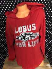 Victoria's Secret Pink University Of New Mexico Lobos Bling Hoodie Small New v20