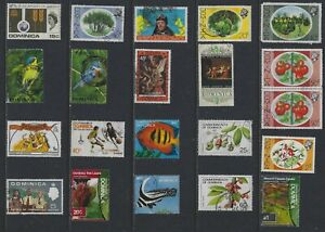H 216 Dominica / A Small Collection Early & Modern Used