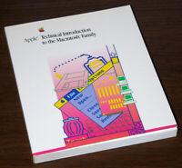1987 Apple Macintosh Family Technical Reference 128K Classic Mac SE Mac II Plus