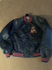 Vintage Chalk Line New England Patriots Pats Throwback Satin Jacket Mens XL