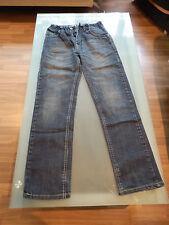 Jeans bleu coupe droite Garçon taille 12 ans