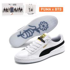PUMA x BTS BASKET PATENT 36827801 With BTS Special Photo card WHITE  BLACK  TAKSE f10d1ba0c