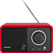 GRUNDIG TR 1200 RED COLOR VINTAGE RETRO ANALOG FM RADIO