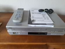 More details for jvc vhs/dvd vcr combo player unit hr-xv31ek with scart cable ,manual,remote cont