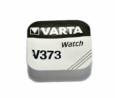Varta V373  SR916 SW D373 Silver Oxide Watch Battery 1.55v [1-Pack]