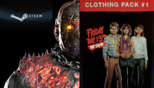 Friday The 13th Game Savini Jason Bloody Skins Emotes Clothes Packs All DLC