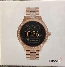 NEW Fossil FTW6008 Q Venture Gen 3 42mm Stainless Steel Smartwatch  - Rose Gold