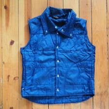 Vintage Sears Mens Parka Blue Work Outerwear Puffer Ski Vest Size M Medium