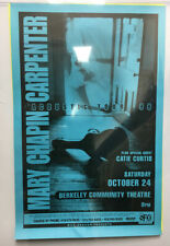 Mary Chapin Carpenter: Acoustic Tour 1998 - Original Concert Poster