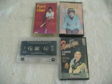 Patsy Cline Cassette Lot - 4 Tapes