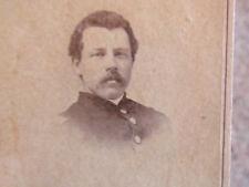 115th New York Infantry Captain Walton W. French cdv photograph