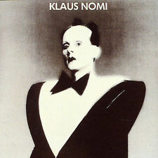 Klaus Nomi - KLAUS NOMI ( AUDIO CD in JEWEL CASE )