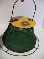 Vintage Collectible John Deere Licensed Mesh Collapsible Bird Feeder