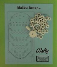 1980 Bally Malibu Beach pinball / bingo rubber ring kit