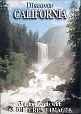 Discover California Conjunto De 52 Jugar Tarjetas + Bromistas ( Sts )