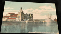 Venice, CA   RESTAURANT SHIP CABRILLO And Gardens c1910 POSTCARD