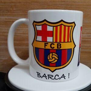 FC Barcelona Tasse /à caf/é M/és Que Un Club Barca Porcelaine Tasse Fan