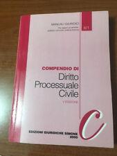 COMENDIO DI DIRITTO PROCESSUALE CIVILE V EDIZIONE Manuali Giuridici- Simone 2000