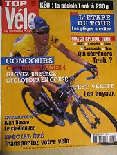 TOP VELO N°88: JUILLET 2004: GUIDE DU TOUR DE FRANCE - BMC - CERVELO - GIANT