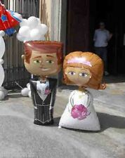 Matrimonio Palloncino Sposo Sposa Airwalker OFFERTA