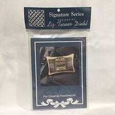 Signature Series Liz Turner Diehl For Creative Needle Alphabet Sampler Free Ship
