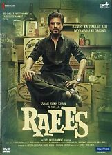 RAEES * SHAH RUKH KHAN - BOLLYWOOD DVD - FREE POST