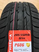 X2 205 55 16 205/55R16 91W A THREE A P606 2 Tyres EXCELLENT TYRES