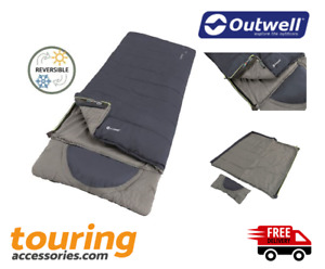 Outwell Contour Lux L Sleeping Bag - Festival - Camping -