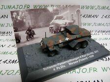 PZ33U Tank militaire 1/72 PANZER n°33 Schwerer 6 Rad SdKfz 231 4 div Pologne 39