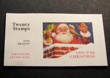 US Booklet Stamp Scott#  BK194 Christmas 1991 MNH C480