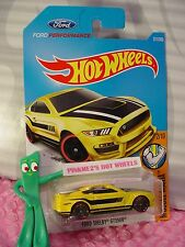 FORD SHELBY GT350R #311✰yellow;PERFORMANCE✰MUSCLE MANIA✰2017 i Hot Wheels case N