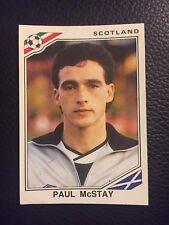 Panini - Mexico 86 World Cup - # 338 Paul McStay - Scotland