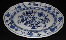 "Brown Westhead & Moore England Meissen Blue Onion Platter 16"""