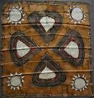 foulard carré de soie VINTAGE 77 cm x 74 cm
