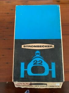 Strombecker Obstacle Track 5 Pieces In Display Box NOS