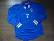 Italy 100% Original Soccer Football Jersey Shirt Xl New 1997 Home #7 Ls [1851]
