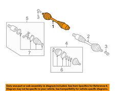 AUDI OEM 15-16 Q3 Drive Axle-Front-CV Shaft Assy Right 5N0407762Q