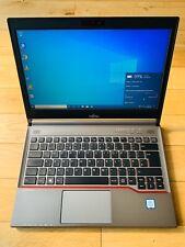 Fujitsu Lifebook E736 Fast i5 6300U 500GB HDD 4GB DDR4 Win 10 Pro Laptop