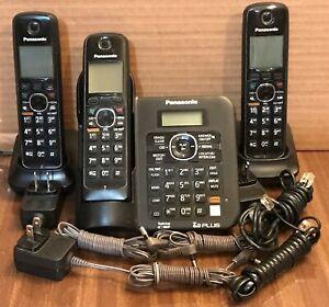 Panasonic KX-TG6641 Dect 6.0 Cordless Phones With 3 Handsets