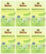 Holle organic nursing thés - 20 sachets de thé (pack de 6)